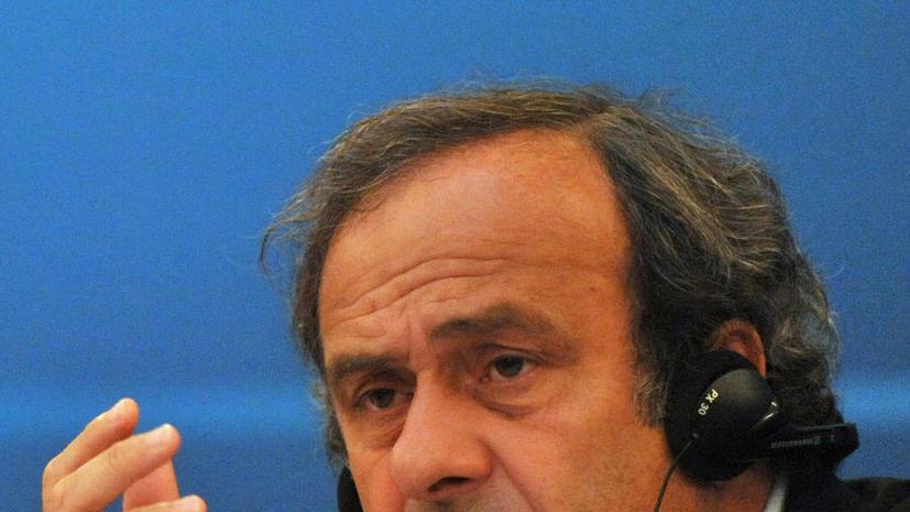 Президент УЕФА: деньги играют главную роль при выборе стран-хозяев международных турниров