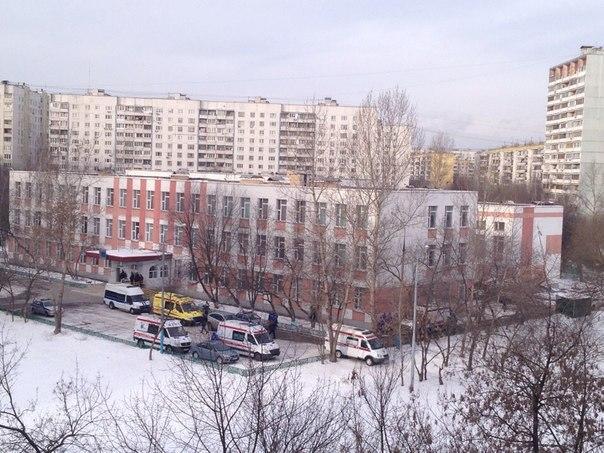 Стрельба в московской школе №263 - фото и видео с места происшествия