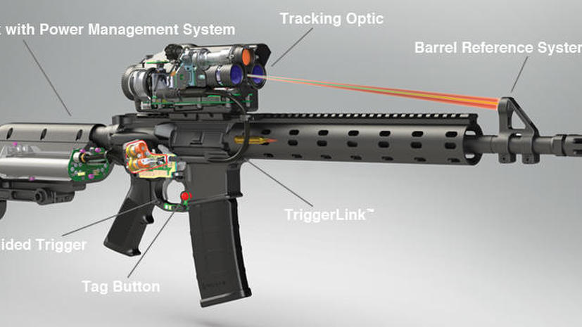 Хакеры способны вывести из строя снайперскую винтовку с самонаведением или изменить её цель