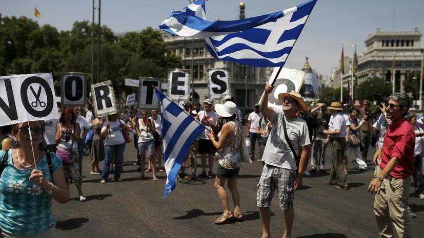 Эксит-полл: Большинство греков выступают против выполнения условий кредиторов