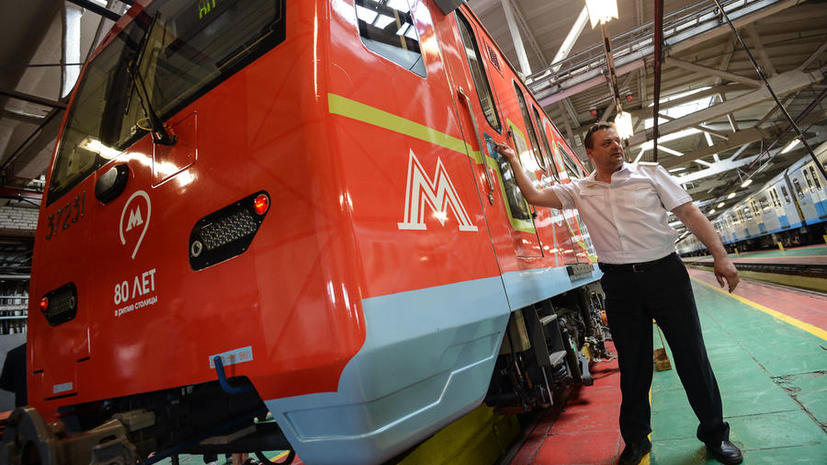 Московский метрополитен отмечает сегодня 80-й день рождения