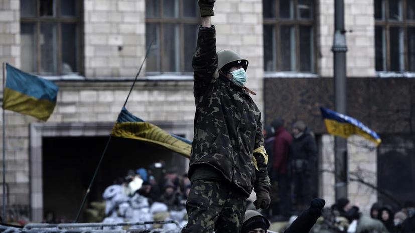 Украинская оппозиция призывает вооружённых граждан вступать в «национальную гвардию»
