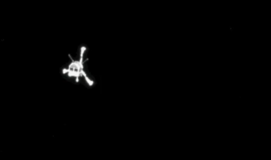 Впервые в истории космический зонд опустился на поверхность кометы