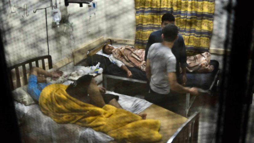 Студенты исламского университета вышли на улицы Каира после массового отравления