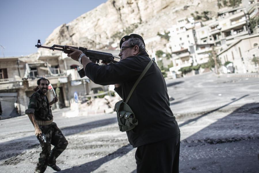В Сирии проходит контртеррористическая операция, уничтожены десятки боевиков