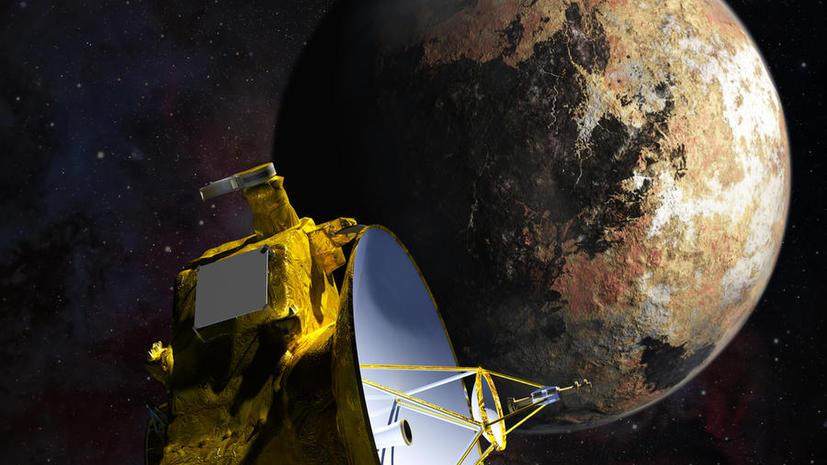 Учёные могут разжаловать Плутон до половины двойной планеты