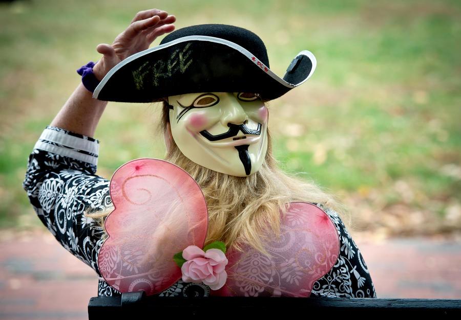 Anonymous атаковали сайты полиции и Центробанка Австралии