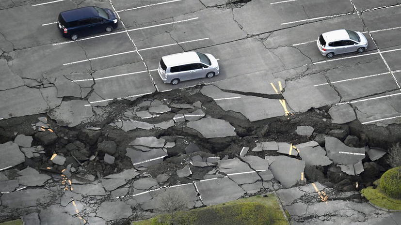 В Японии произошла мощнейшая после аварии на АЭС «Фукусима» серия землетрясений