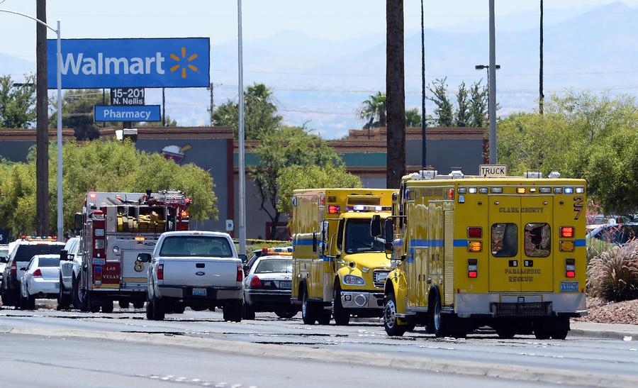 Неизвестные устроили перестрелку в Лас-Вегасе, погибли пять человек