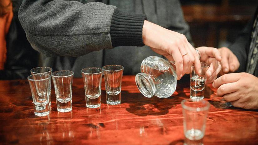 Опрос: каждый пятый россиянин не употребляет спиртного