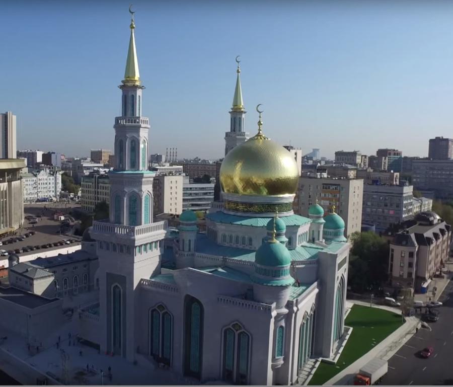 В Москве сегодня после реставрации открылась крупнейшая мечеть Европы