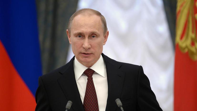 Опрос: 80% россиян одобряют деятельность президента РФ Владимира Путина