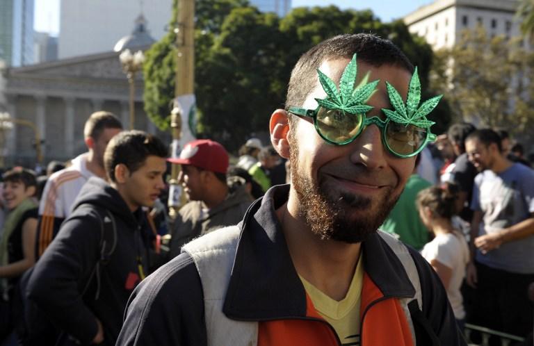В Аргентине прошли массовые акции в поддержку легализации марихуаны