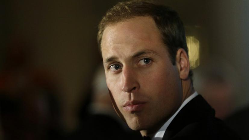 Принц Уильям раскрыл пароли сотрудников Министерства обороны Великобритании