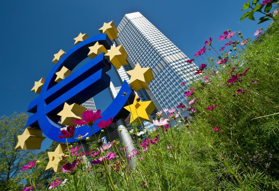 Экономика Еврозоны впервые за два года пошла вверх
