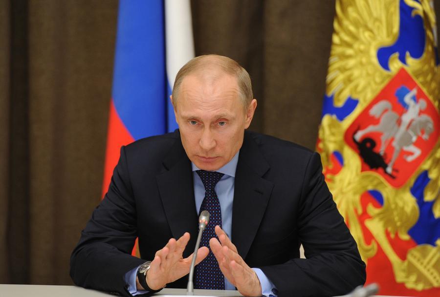 Владимир Путин: Референдум в Крыму полностью соответствовал нормам международного права