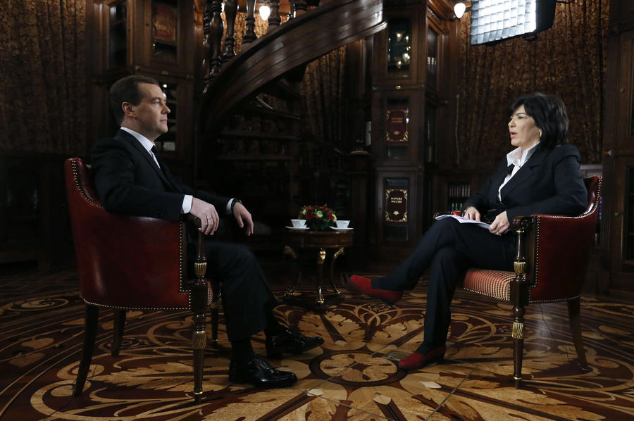 Дмитрий Медведев: Угроз безопасности на сочинской Олимпиаде не больше, чем на олимпийских играх в других местах