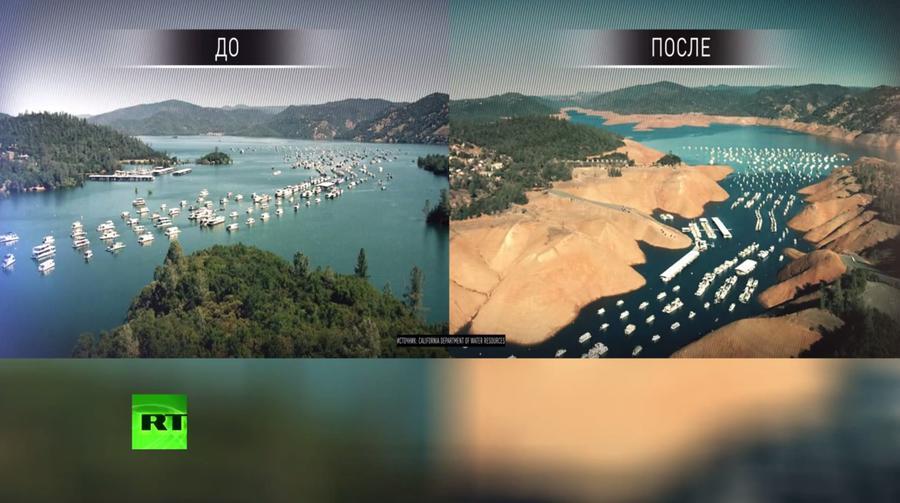 Из-за засухи в Калифорнии впервые ограничили потребление воды