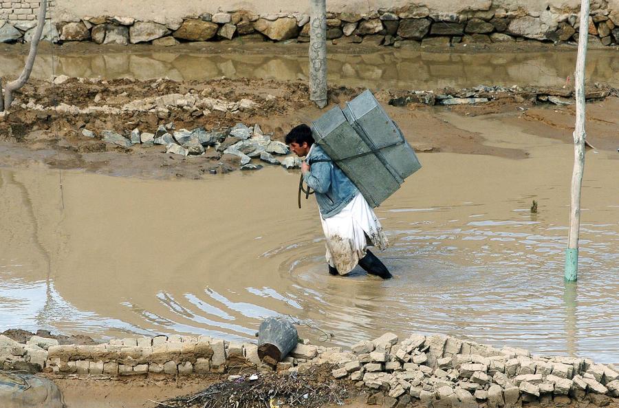 От наводнения в Афганистане и Пакистане погибли 86 человек
