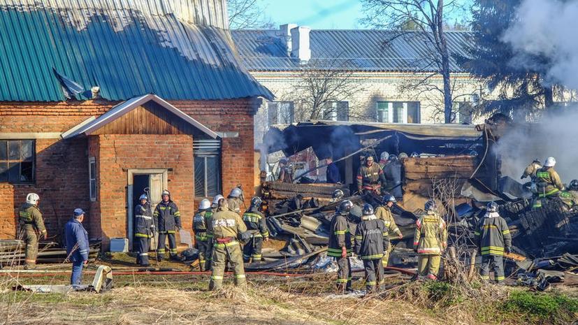 Катастрофы в лечебных учреждениях: пожар в Раменском один из крупнейших