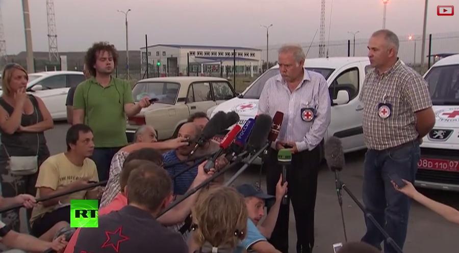 Представитель Красного креста: Мы ждём одобрения Киева на инспекцию гуманитарной помощи из России