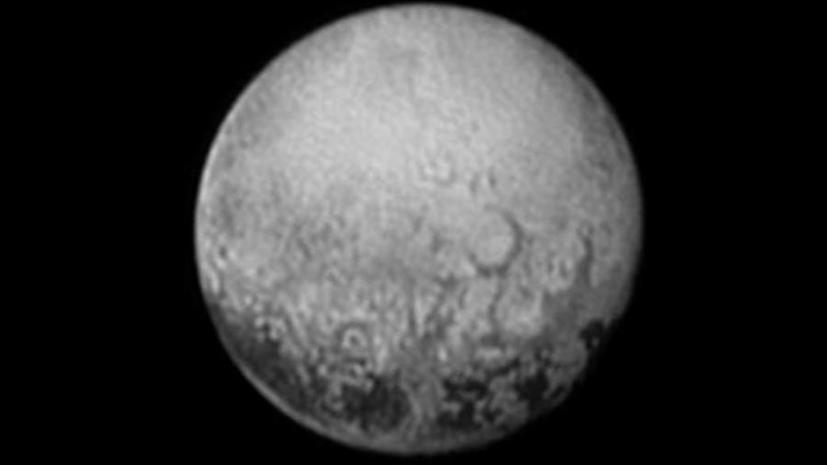 Новые фотографии Плутона помогут изучить геологию карликовой планеты