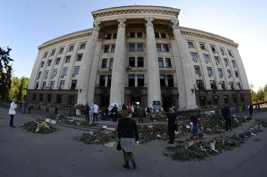 МВД Украины: В одесском Доме профсоюзов найден хлороформ