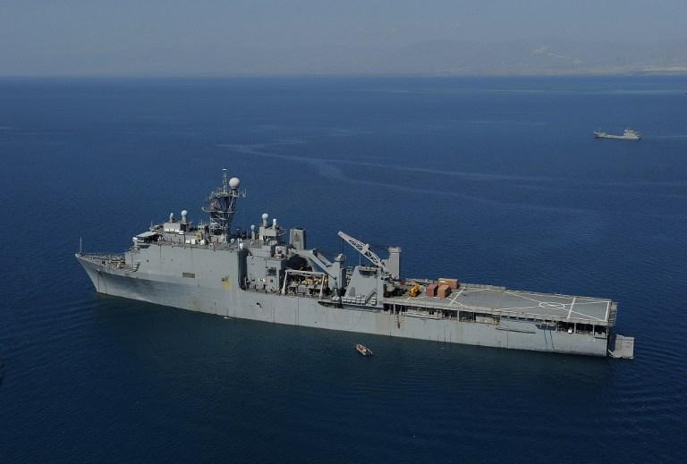 Россия направила в Сирию военный корабль