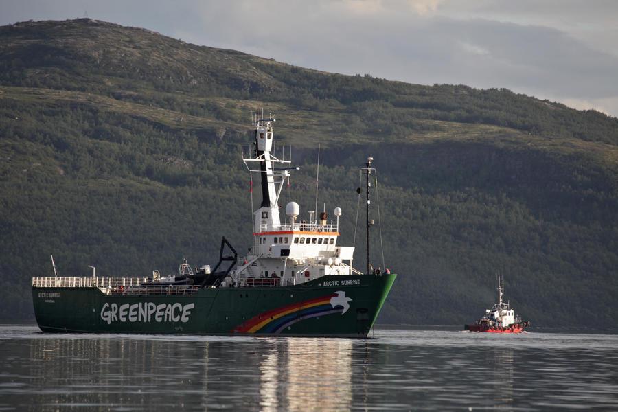 Судно «Арктик Санрайз», принадлежащее Greenpeace, может стать собственностью России