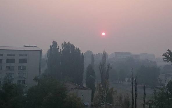 Санэпидемслужба Украины: Пожар охватил почти весь периметр Киева