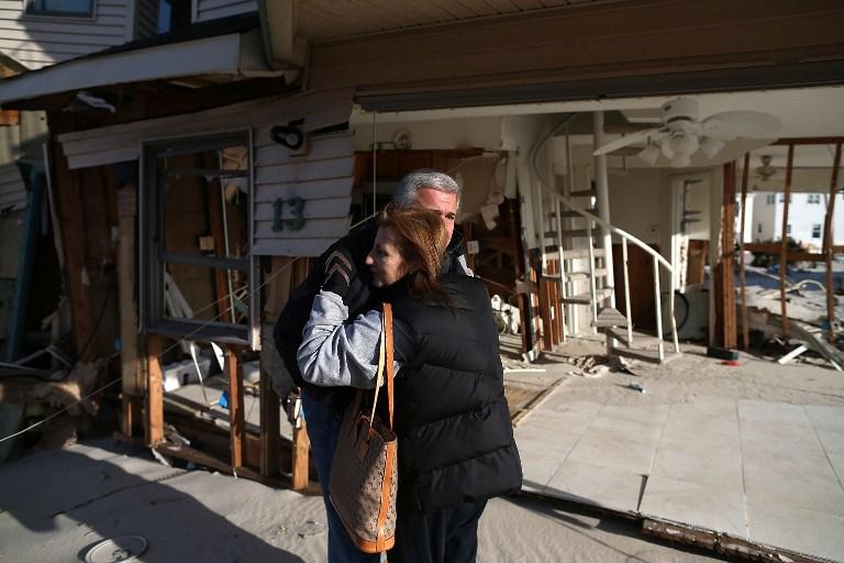 Жертвам урагана «Сэнди» не хватит денег на восстановление домов