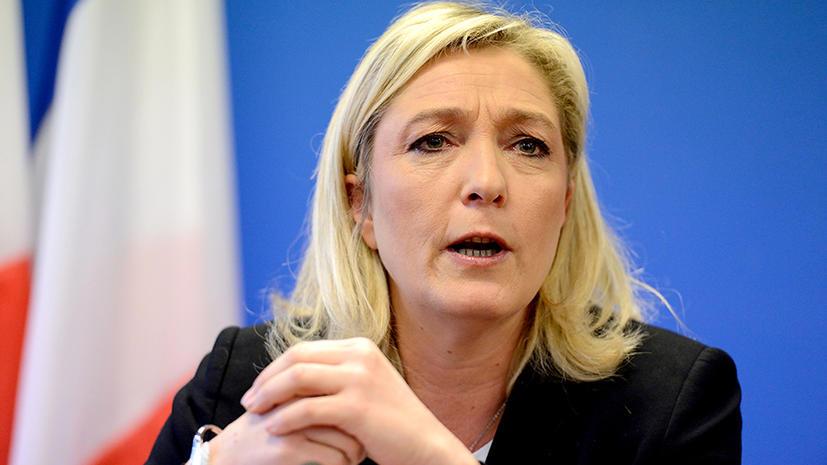 Марин Ле Пен: Запад слепо поддерживает сирийскую войну