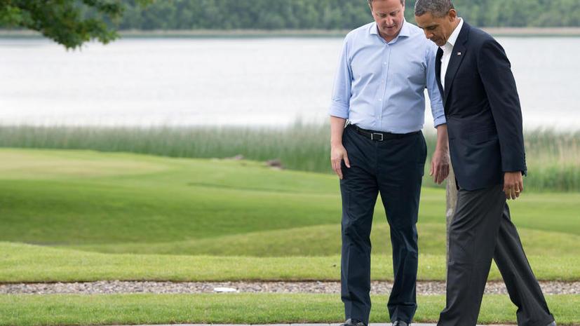 Барак Обама и Дэвид Кэмерон полагают, что Россия уже начала платить за свои действия на Украине