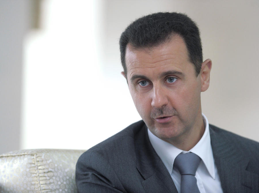 Башар Асад поблагодарил Россию за поддержку и гуманитарную помощь