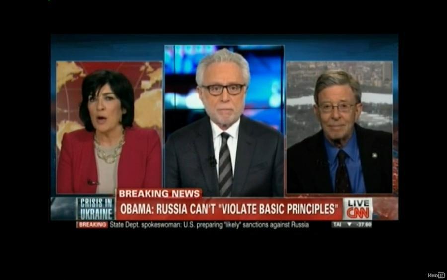 Ведущие CNN в прямом эфире устроили перепалку по вопросам национализма на Украине