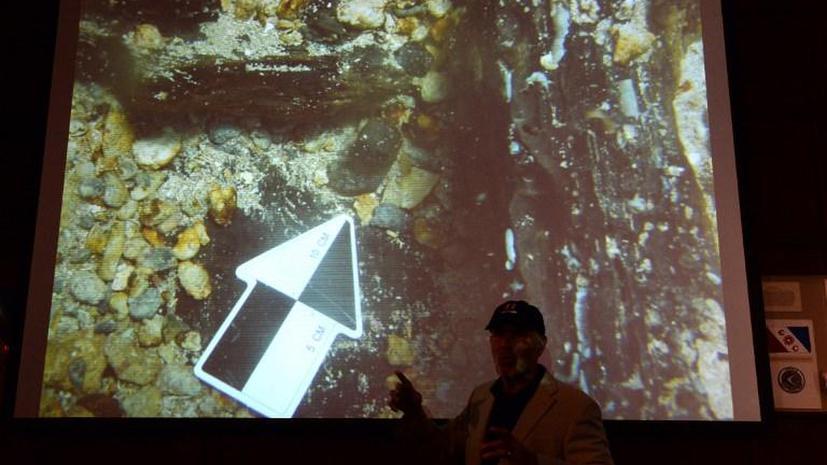 Обнаруженный на дне Карибского моря корабль Христофора Колумба успели разграбить