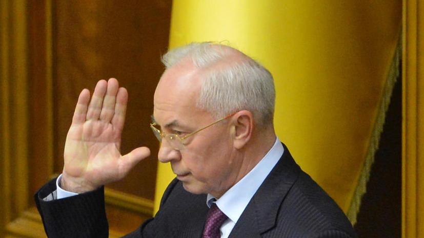 Николай Азаров: Безвизового режима у Украины с ЕС нет и не предвидится