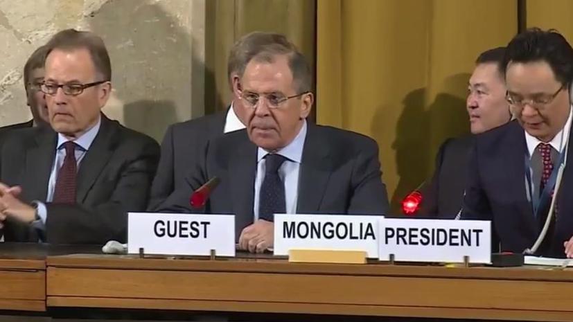 Сергей Лавров: Действия США по ПРО оказали деструктивное влияние на стратегическую стабильность