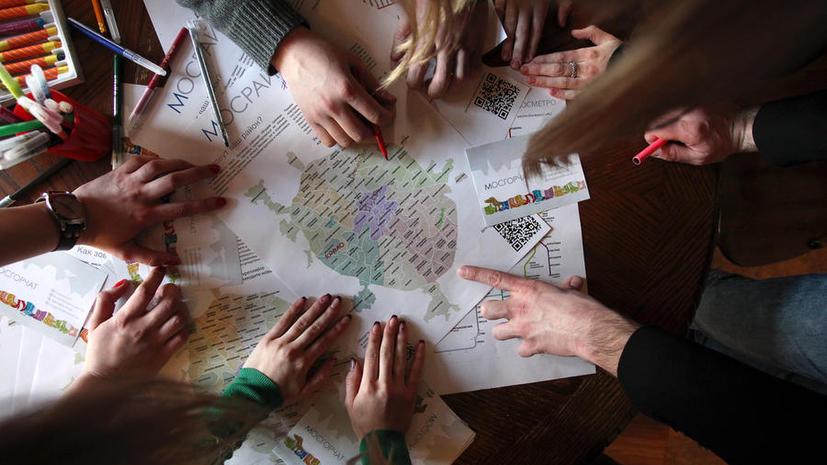 Для жителей столицы создадут карту пешеходных маршрутов