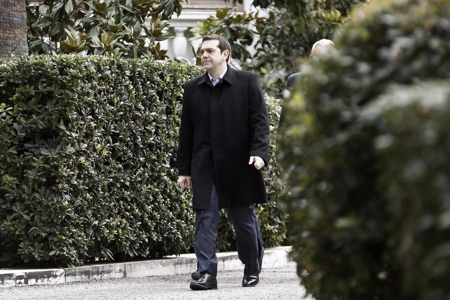 Новый греческий премьер Алексис Ципрас прибывает в Москву для переговоров с российским руководством