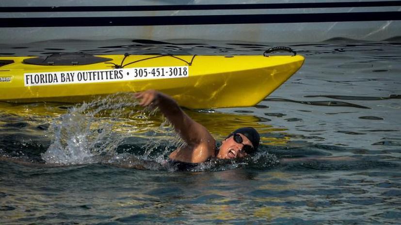 Медузы не позволили австралийской пловчихе установить мировой рекорд