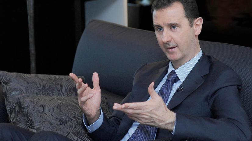 Асад: Пока политика Франции враждебна народу Сирии, это государство будет его врагом