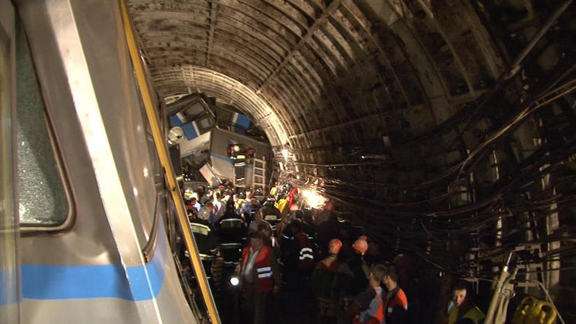 СКР: Стрелочный механизм в тоннеле Арбатско-Покровской линии был зафиксирован обычной проволокой