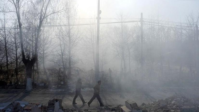 Китайские чиновники признали высокий уровень загрязнённости воздуха в главных городах страны