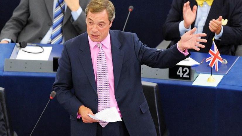 Британская партия независимости призвала граждан забрать свои деньги из испанских банков