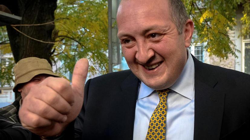 Георгий Маргвелашвили одерживает победу на президентских выборах в Грузии