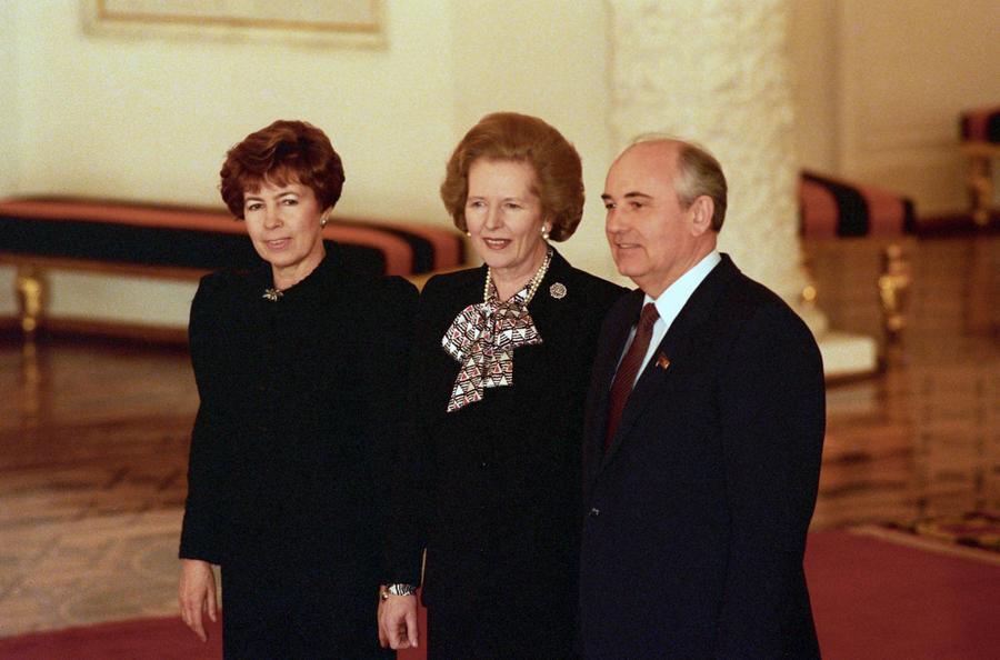 Великобритания рассекретила впечатления Маргарет Тэтчер о Михаиле Горбачёве
