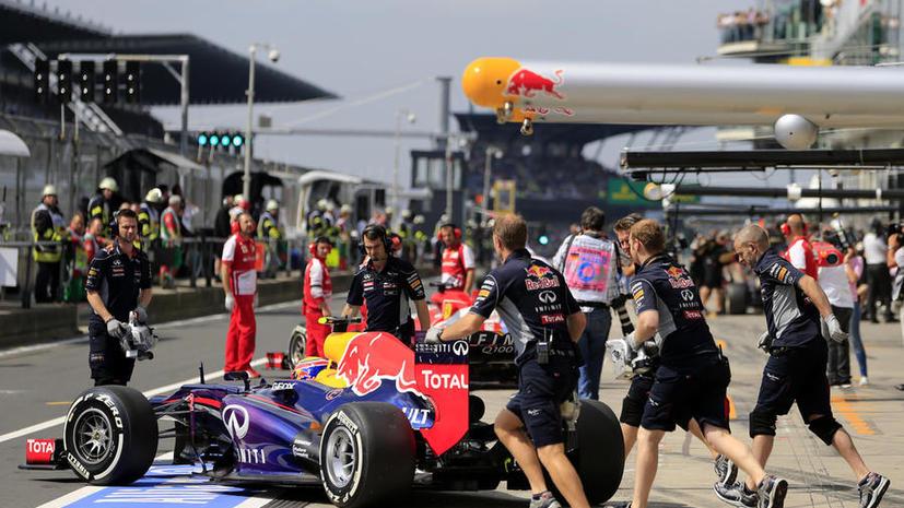 Оператор получил сотрясение мозга от удара колесом на Гран-при Германии