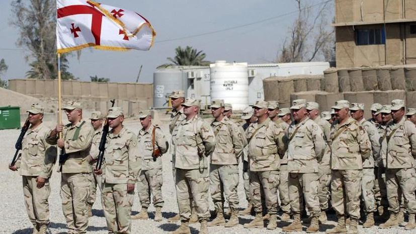 Грузинские политики увидели российскую угрозу для миротворцев в Афганистане