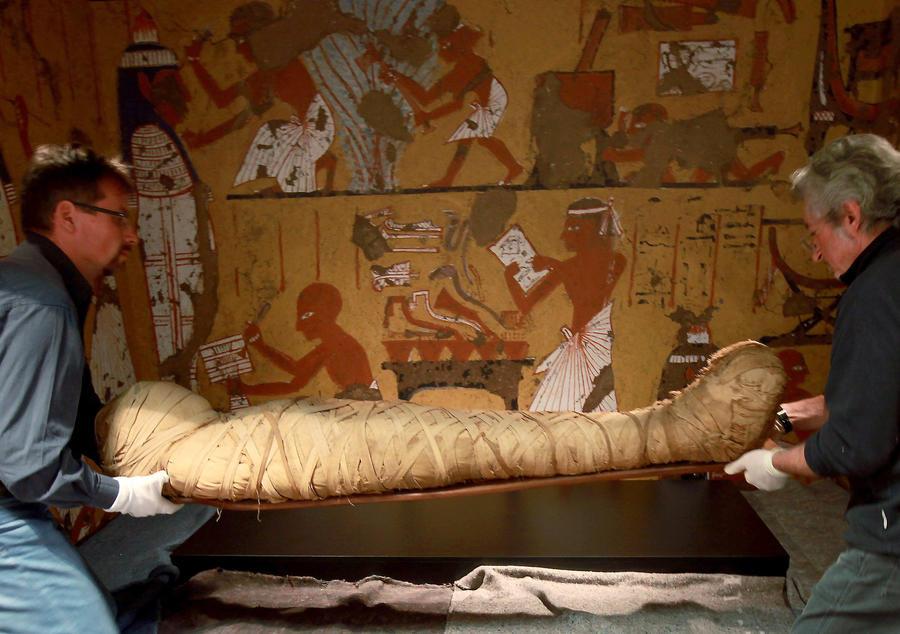 В разграбленной грoбнице в Египте нашли 50 мумий представителей аристократии
